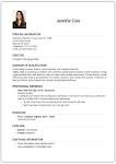 screenshot of Resume Creator - Free