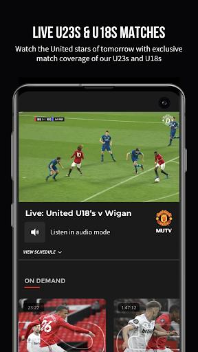 MUTV u2013 Manchester United TV 2.9.3 Screenshots 4