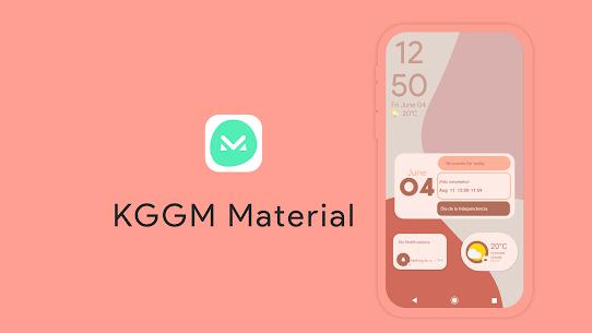 KGGM Material for KWGT APK 3