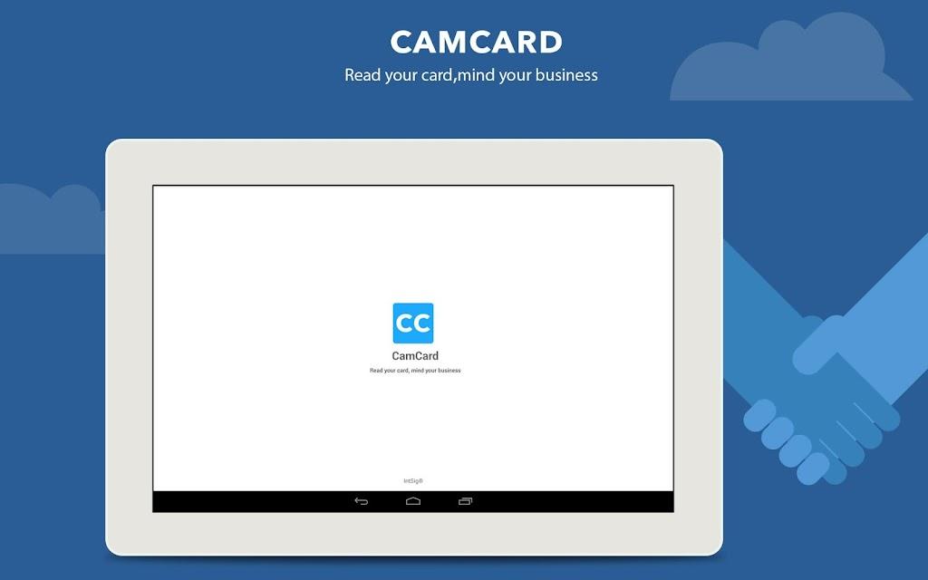 CamCard - Business Card Reader  poster 4