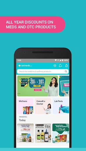 Netmeds screenshot for Android