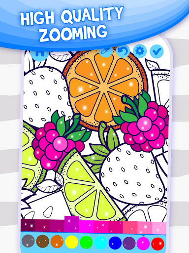 Doodle Coloring Book apktreat screenshots 2