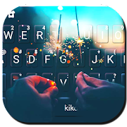 Romantic Firework Keyboard Theme