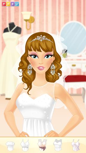 Makeup Girls - Wedding dress up games for kids  screenshots 6