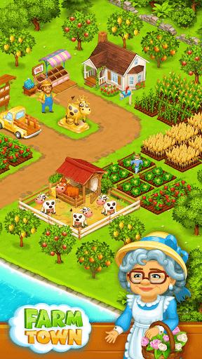 Farm Town: Happy farming Day & food farm game City  screenshots 1