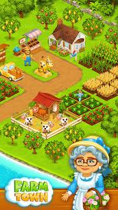 Farm Town  Happy farming Day  food farm game City Apk Download 2021 1