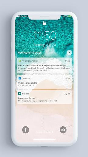 Lock Screen & Notifications iOS 14 2.2.3 Screenshots 1