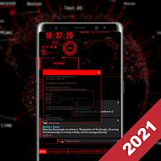 Hacker Theme - Aris Launcher