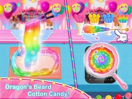 Unicorn Chef Carnival Fair Food Games for Girls 2.3 screenshots 2