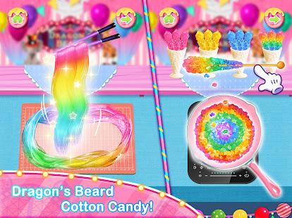 Unicorn Chef Carnival Fair Food Games for Girls 2.2 Screenshots 2