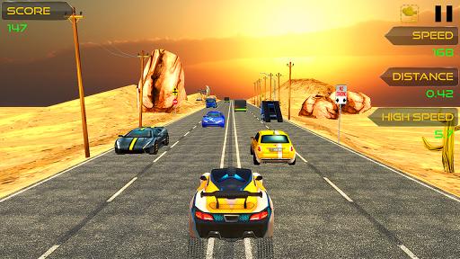 highway traffic car racer screenshot 1