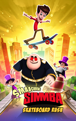 Smaashhing Simmba - Skateboard Rush android2mod screenshots 9