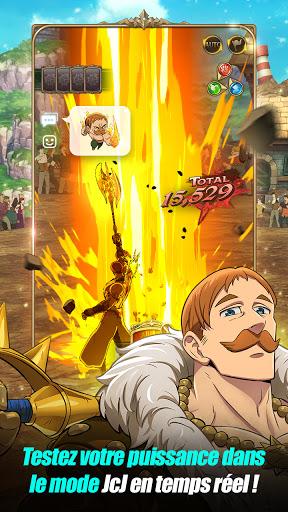 Code Triche The Seven Deadly Sins: Grand Cross (Astuce) APK MOD screenshots 6