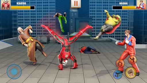 Ninja Superhero Fighting Games: City Kung Fu Fight screenshots 1
