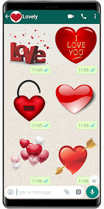 New Love Stickers 2020 ❤️ WAStickerApps Love 1.6 Android Mod + APK + Data 1