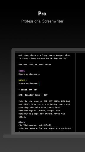 JotterPad - Writer, Screenplay, Novel 12.11.0D-pi Screenshots 6