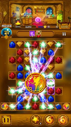 Secret Magic Story: Jewel Match 3 Puzzle android2mod screenshots 1