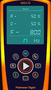 Digital Multimeter/Oscilloscope Free 1.7.4 Mod + Data for Android 2