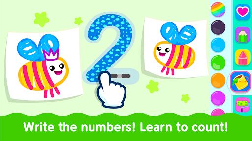 Bini Toddler Drawing Apps! Coloring Games for Kids apktram screenshots 5