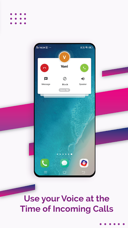 Vani Dialer - Answer Calls By Your Voice poster 2
