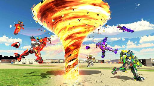 Tornado Robot games-Hurricane Robot Transform Game android2mod screenshots 13