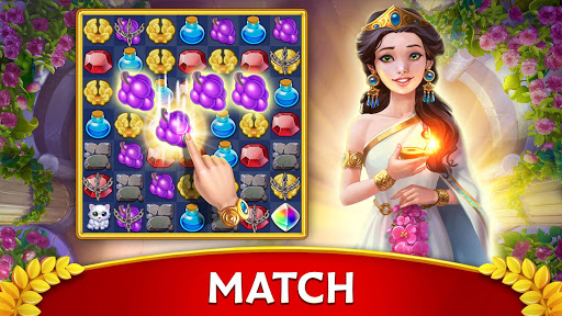 Jewels of Rome: Gems and Jewels Match-3 Puzzle screenshots 9
