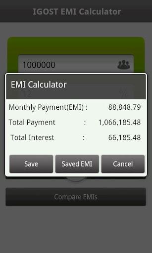 EMI Calculator For PC Windows (7, 8, 10, 10X) & Mac Computer Image Number- 7