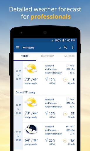 wetter.com - Weather and Radar 2.43.5 Screenshots 3