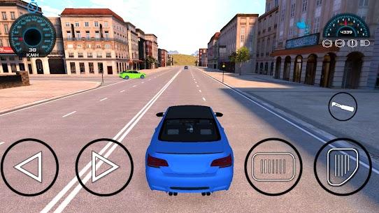M4 Sürüş Oyunları: şehir araba sürüş simülatörü Apk İndir 2