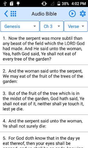 Holy Bible Offline 3.6 Screenshots 5