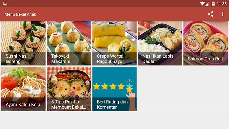 Menu Bekal Anak Latest Version For Android Download Apk