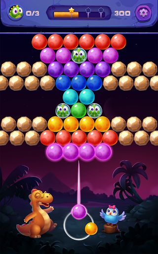 Bubble Shooter: Primitive Dinosaurs - Egg Shoot 1.04 screenshots 8