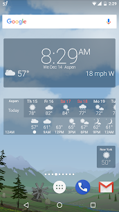 Awesome weather YoWindow + live weather wallpaper 5