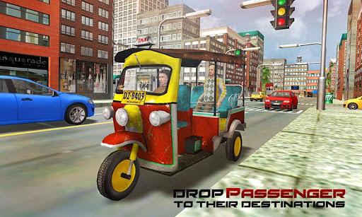 Tourist Transport Taxi: Tuk Tuk Driving Simulator  screenshots 1