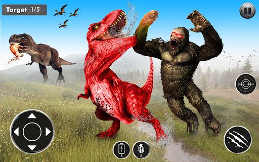 Angry Dinosaur Attack Dinosaur Rampage Games android2mod screenshots 4