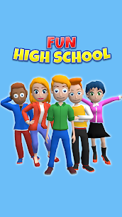 Fun High School (MOD, Unlimited Money) 3