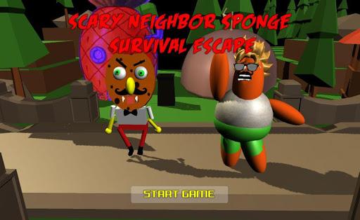 scary neighbor sponge survival escape screenshot 1