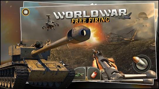 World War ww2 Firing battlegrounds: Free Gun Games – Android APK [Unlocked] 2