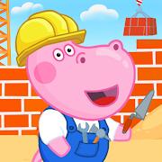 Hippo builder. Building machines