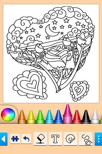 Girls games: Painting and coloring  screenshots 10