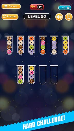Code Triche Ball Sort Fun Puzzle - Jeux De Bulles De Couleur (Astuce) APK MOD screenshots 3