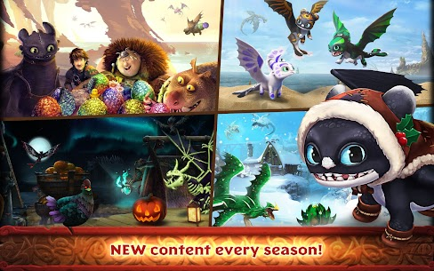 Dragons : Rise of Berk Mod Android 3