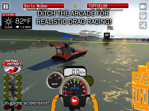 Top Fuel Hot Rod - Drag Boat Speed Racing Game 1.12 screenshots 10