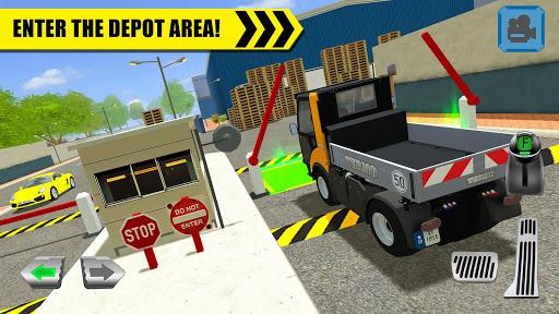 Truck Driver: Depot Parking Simulator 1.2 screenshots 1