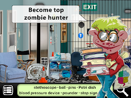 Zombies Escape : Free Search and Find Games