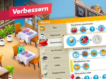 Mein Café — Restaurantspiel Screenshot