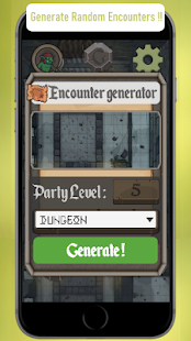 Dungeon Monsters Generator