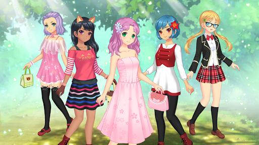 Anime Dress Up - Games For Girls 1.1.9 Screenshots 13