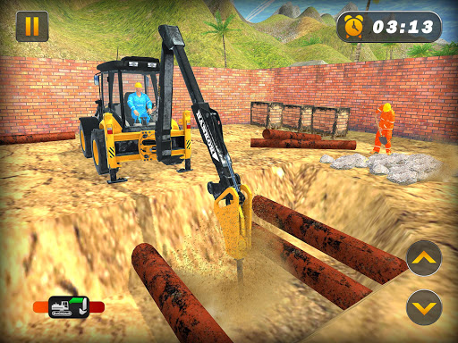 Heavy Excavator Crane Simulator Construction Games apkdebit screenshots 6