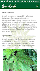 GrowCush - Cannabis deficiency detection .APK Preview 6